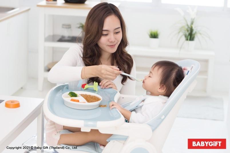 เก้าอี้กินข้าวเด็ก เก้าอี้ฝึกกินข้าวเด็ก